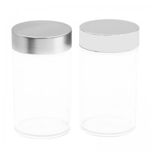 500ml transparent PET vitamin C packaging bottle