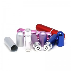 5 ml oxidated aluminum inhaler bottle