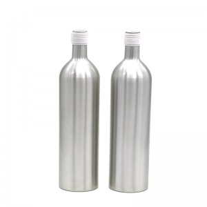 1000ml customized color aluminum champagne bottle