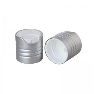 24/410 oxidated aluminum disc top cap
