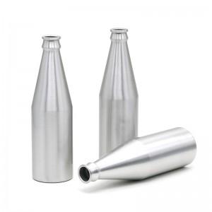 33cl aluminum beer shaped bottle