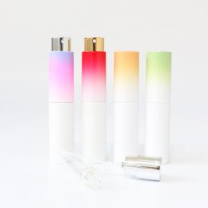 Factory direct luxury twist up 8ml perfume bottle atomizer spray 10ml 20ml travel mist spray bottle for hand sanitizer