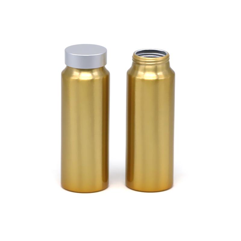 مو 250ml دارویی آلومینیوم بطری تصویر ویژه
