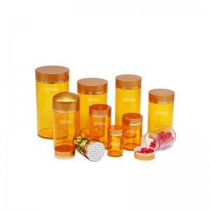 1L plastic herbal powder packaging bottle