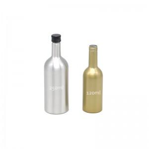 AJ-06 series aluminum fuel additive bottle