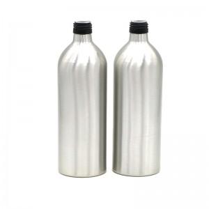 650ml empty aluminum beverage bottle
