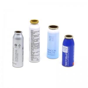 aluminum empty aerosol can