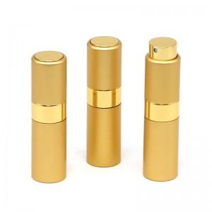 5ml / 8ml / 10ml / 15ml / 20ml rotary aluminum perfume bottle