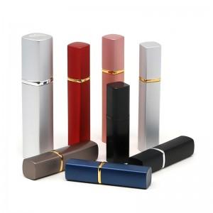 6ml / 8ml / 10ml / 12ml / 25ml square aluminum perfume bottle