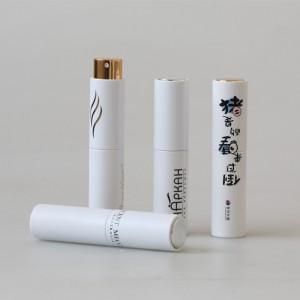 Luxury customized logo 8ml perfume bottle with sprayer empty perfume atomizer refillable
