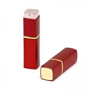 8ml / 10ml / 15ml / 20ml square twist up aluminum perfume atomizer