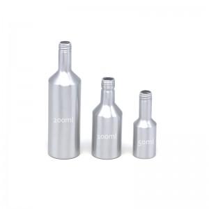 AJ-05 series aluminum engine oil packaging bottle