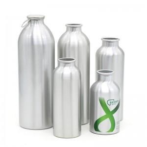 350ml / 500ml / 750ml / 1L easy pull ring aluminum bottle