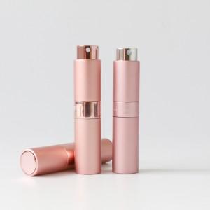 Factory direct 8ml 10ml 15ml 20ml aluminum perfume atomizer mini pocket twist up refill sanintizer atomizer bottle refill