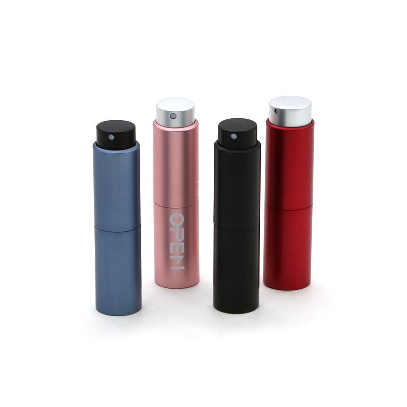 8ml 10ml 15ml 20ml Custom Color Aluminum Perfume Atomizer Refillable Featured Image