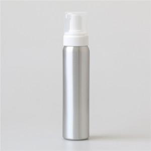 620ml gold aluminum body powder bottle