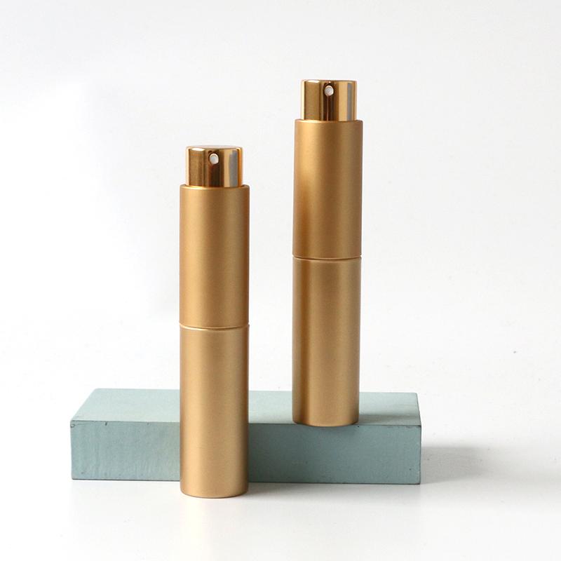 Pocket size 10ml round perfume atomizer spray bottle refillable spray bottle business gift atomizer spray bottle for hand sanitizer Featured Image