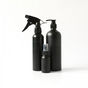 Custom color travel size aluminum dropper bottle spray bottle