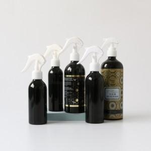 8oz 16oz 32oz custom color aluminum lotion pump bottle for shampoo wholesale price aluminum cosmetic bottle