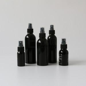Wholesale price aluminum bottle for disinfectant gel aluminum spray pump bottle