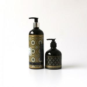 500ml aluminum shampoo bottle