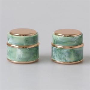 Custom color luxury skin care cream jar 5g 7g 15g nail gel pot