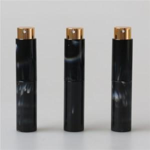 marble pattern 10ml mini plastic scent spray bottle portable