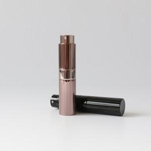 Luxury 8ml 10ml 15ml 20ml Custom Color Travel Size Aluminum Perfume Atomizer Refillable Spray Bottle