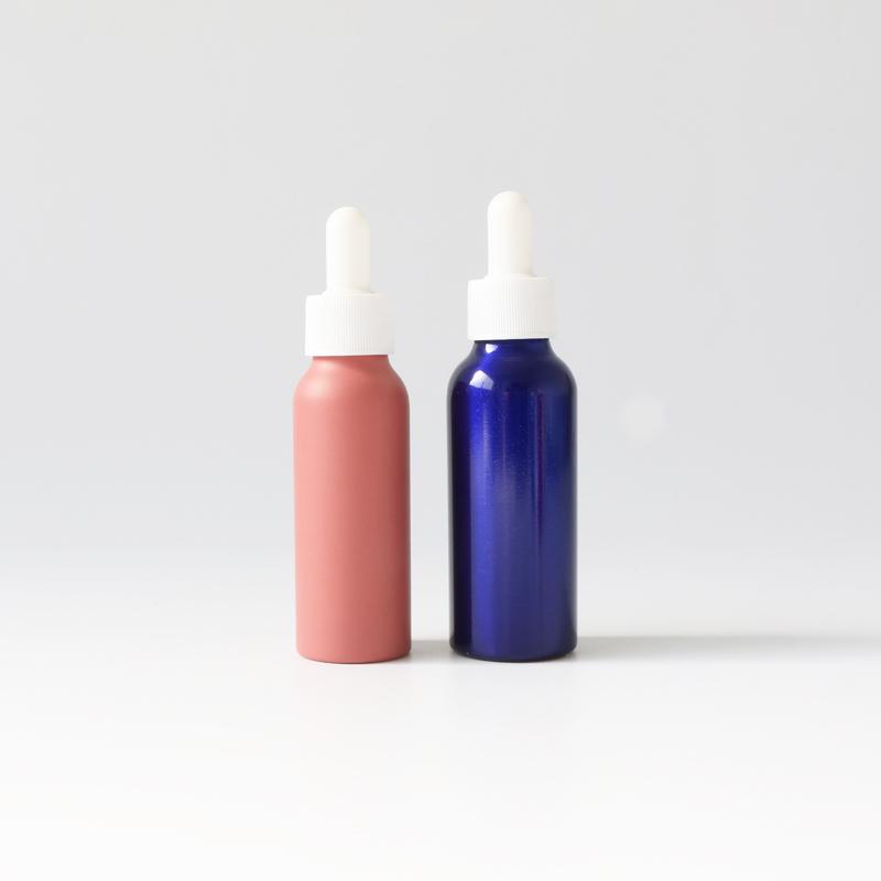 Custom color travel size aluminum dropper bottle spray bottle Featured Image