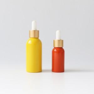 Free sample Customized color alumiunm cosmetic bottles travel size aluminum shampoo bottles