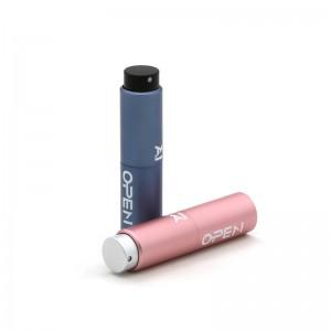8ml 10ml 15ml 20ml Custom Color Aluminum Perfume Atomizer Refillable