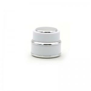 Luxury Plastic Cosmetic Cream Packing Jar in Stock