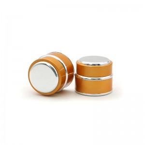 Luxury Plastic Cosmetic Jars 15g 30g 50g