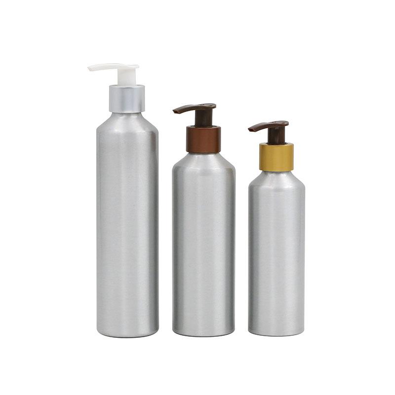 Wholesale price aluminum bottle for disinfectant gel aluminum spray pump bottle Featured Image