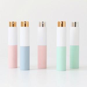 In stock pocket size mini perfume atomizer white color twist 20ml oral spray atomizer refillable