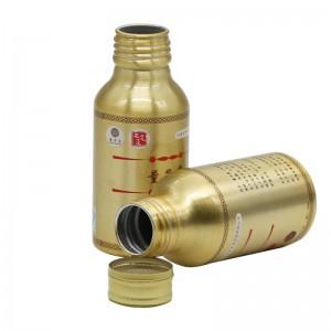 100ml aluminum energy drink bottle