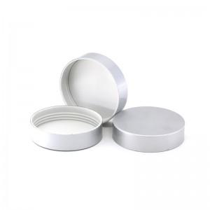 68mm silver aluminum lid