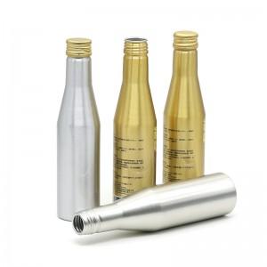 250ml aluminum soda water bottle